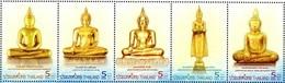 Thailand Thailande Bf 281 Bouddha, Uniquement Les Timbres - Buddhism