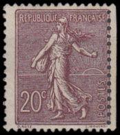 FRANCE   YVERT N°  131 - TYPE SEMEUSE - PIQUAGE DECALLE - NEUF XX - COTE: 60 Euros (1031) - 1903-60 Sower - Ligned