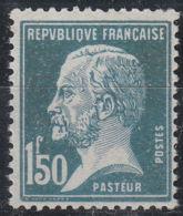 FRANCE   YVERT N°  181 - PASTEUR - FAUX DIT DE MARSEILLE - NEUF XX (1051) - 1922-26 Pasteur