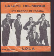"""45 T Los Bardos De Espana """" La Legge Del Menga + Lola """" - Vinyl-Schallplatten"""