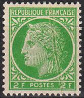 FRANCE   YVERT N°  680 - PLI ACORDEON - NEUF XX (6132) - France
