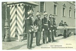 Carabiniers - Gardes D'honneur Du Prince - Beau Plan - TBE - Monaco