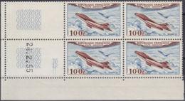 FRANCE PA YVERT N° 30 BLOC DE 4 CD 24/2/55 - NEUF XX - COTE: 21 Euros (10852) - Airmail