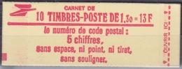 FRANCE CARNET YVERT N° 2059 C2 - CONFECTION N° 7 - COTE: 13 Euros (11234) - Booklets