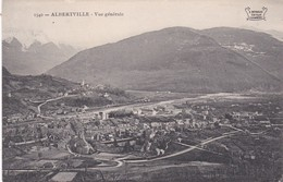 1540  ALBERTVILLE  D73   VUE GENERALE - Albertville