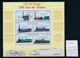 Togo  Block  Eisenbahn  **..... ( Zu4213  )siehe Scan ! - Treni