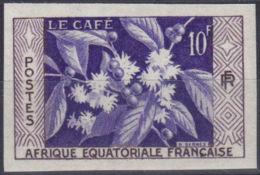 AFRIQUE EQUATORIALE FR:  YVERT N° 236a - NON DENTELE - NEUF XX - COTE MAURY: 18 Euros (10205) - A.E.F. (1936-1958)