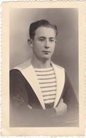 Soldat : MARINE : Portrait : Photo. J. L. ADOLPH - Toulon - ( Format - 13,5cm X 8cm ) - War, Military