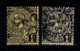 Monaco - YV 20 & 20a Oblitere Cote 29,25 Euros - Used Stamps