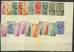 MONACO:   YVERT N°  169/183 NON DENTELES - NEUFS XX - TOUS COINS DATES (X Sur Le CD) COTE: 315 Euros (27) - Monaco