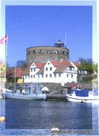 Danemark:Christiansjö Island Lighthouse - Fari