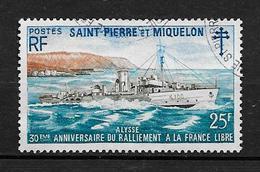 SAINT PIERRE ET MIQUELON 1971 . N° 415 . Oblitéré  . - St.Pierre & Miquelon