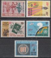 VIETNAM DU SUD:  YVERT N° 479A/E NON EMIS - NEUFS XX - COTE MICHEL:  70 Euros (2668) - Viêt-Nam