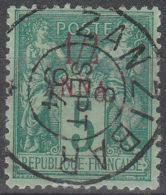 ZANZIBAR:  YVERT N°  1 - OBLITERATION SUPERBE - (8377) - Zanzibar (1894-1904)