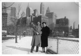 "7271 "" NEW YORK-3 GENNAIO 1953-LA PUNTA DI MANHATTAN DAL BATTERY PARK "" FOTO ORIGINALE - Luoghi"