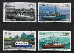 SAINT PIERRE ET MIQUELON 2007 . Série N°s 905 à 908 . Oblitérés  . - Used Stamps