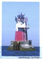 Estonia:Tallinn Bay, Mid Low Water Lighthouse - Fari