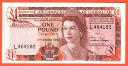 Billet  GIBRALTAR - 1 Pound 21 10 1986 Pick 20d NEUF - Gibraltar