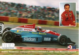 MOTOR RACING - AUTOMOBILISMO - ANDREA MONTERMINI - CAMPIONATO INTERCONTINENTALE F 3000 - N 055 - Motorsport