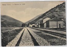 Cartolina - Palena - Stazione Ferroviaria - Chieti