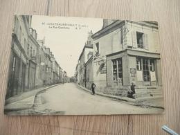 CPA 37 Indre Et Loire Chateaurenault Château-Renault La Rue Gmbetta - France