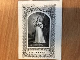 S. Rosalie : Stubbe Petrus Franciscus Weduwnaar Van Claes Adriana *1776 +1843 Brussel  67 Jaeren - Avvisi Di Necrologio