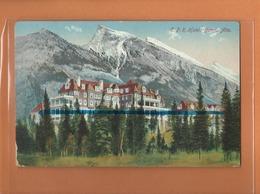 CPA - C P R Hotel BANFF , Alta - Banff