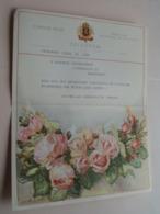 TELEGRAM ( Huwelijk ) ANTWERPEN 1951 ( Koninklijke BORGERHOUTSE TURNERS ) Belgique - Belgium ! - Non Classificati