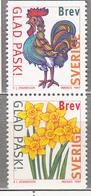 SWEDEN SVERIGE SUEDE 1997 Easter Frowers Cock MNH (**) Mi 1992 - 1993 #18412 - Schweden