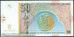 TWN - MACEDONIA 15e - 50 Denari 1.2007 Prefix ДЏ UNC - Macédoine