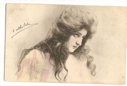 FF 357 OLD ( 1904 ) FANTASY POSTCARD , FINE ART , PAINTINGS ,  FEMALE FIGURATIVE - Arts