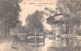 58 - Imphy - Beau Cliché Du Transporteur Aérien - Le Canal - Péniches Des Etablissements Faivre-Frères à Lyon ? - N°2 - France