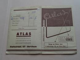 Fotohoesje/ Mapje ( ATLAS Berchem Statiestraat ) Met Enkele Foto's >>>> Turnkring ( Details Zie Foto's ) ! - Foto