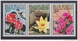 Belgique N° 1523 A -  1524 A - 1525 A *** Floralies Gantoises IV - Couleurs Modifiées - 1970 - Belgique