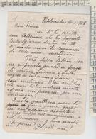 Concordia Sagittaria Portogruaro Militari Lettera Dal Fronte Valderrobres Spagna 1938  Venezia Legionari + Falangisti - Historical Documents