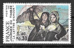 FRANCE 2124 Goya La Lettre D'amour - Gebruikt