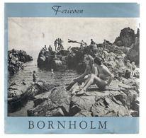 Bornholm Une île Du Danemark Dépliant Touristique Des Années 1960 - Books, Magazines, Comics