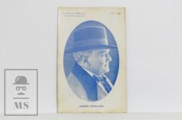 Original 1920s Cinema / Movie Actor Postcard - Nº 142, Henri Krauss - Actors