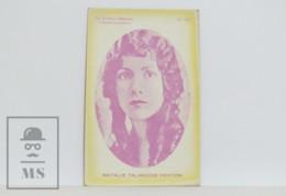Original 1920s Cinema / Movie Actress Postcard - Nº 163, Natalie Talmadge Keaton - Actors