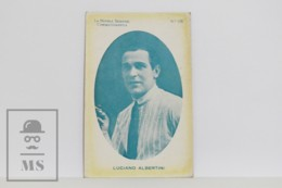 Original 1920s Cinema / Movie Actor Postcard - Nº 170, Luciano Albertini - Actors