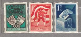 AUSTRIA / OSTERREICH 1950 Mi 952 - 954 MNH Postfrisch (**) #18484 - 1945-.... 2ème République
