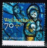 Bund 2018,Michel# 3418 O Weihnachten: Kirchenfenster - Gebraucht