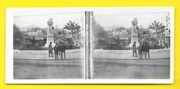 Vues Stéréos MENTON Jardins Et Avenue Des Orangers - Stereoscopic
