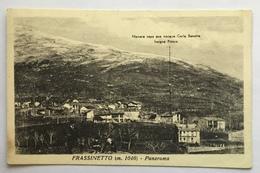 FRASSINETTO- PANORAMA -VIAGGIATA  FP - Italia