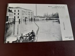 MENIN    Inondation De 1894 (première Vue Du Bassin )obl 1902 - Menen