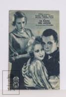Original 1933 Air Hostess Movie / Cinema Advertising Card / Leaflet - Evelyn Knapp, James Murray - Bioscoopreclame