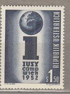 AUSTRIA / OSTERREICH 1952 Mi 974 MNH Postfrisch (**) #18498 - 1945-.... 2ème République
