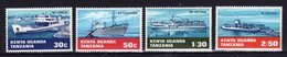 KUT Kenya Uganda Tanzania 1968 Navires Ships Yv 178/181 MNH ** - Kenya, Uganda & Tanzania