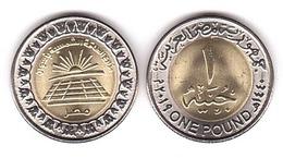 Egypt - 1 Pound 2019 UNC Sunny Park Benban Lemberg-Zp - Egitto