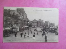 CPA 50 CHERBOURG LE QUAI DE COLIGNY ANIMEE - Cherbourg